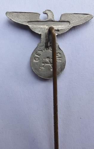 Assman Reichadler stick pin