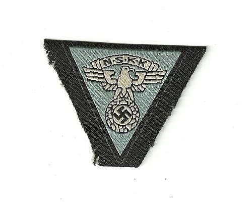 NSKK Cap Insignia ( Light Blue)