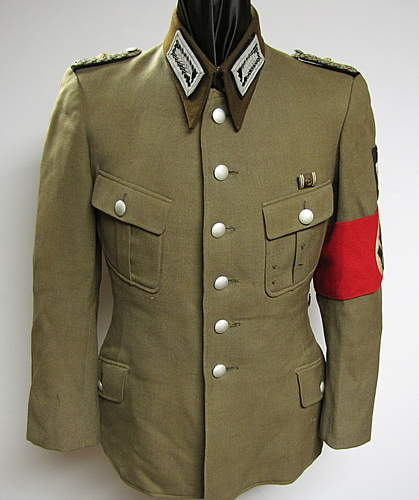 High Ranking RAD Officer's Tunic