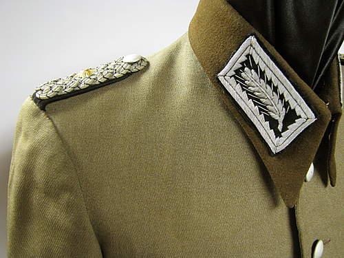 High Ranking RAD Officer's Tunic