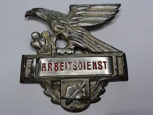 Arbeitsdients badge ?