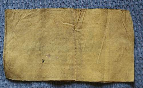 Reichsbahn armband added to collection