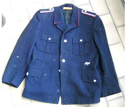 Tunic ID - Feuerschutz - Pre-1945?