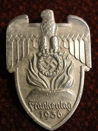 Tinnie: 1936 frakentag