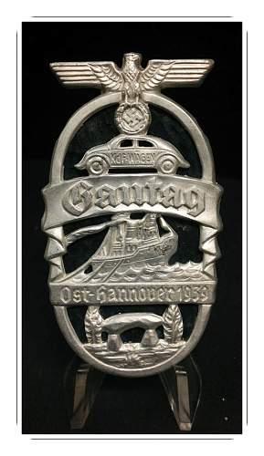 1939 Gautag Ost - Hannover Piece?