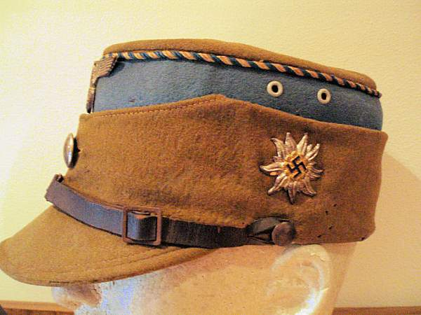 edelweiss cap badge? with swaz