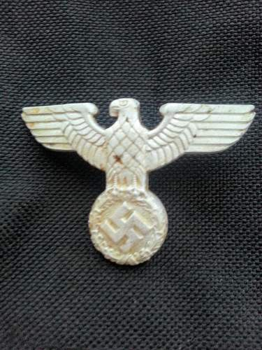 What insignia?