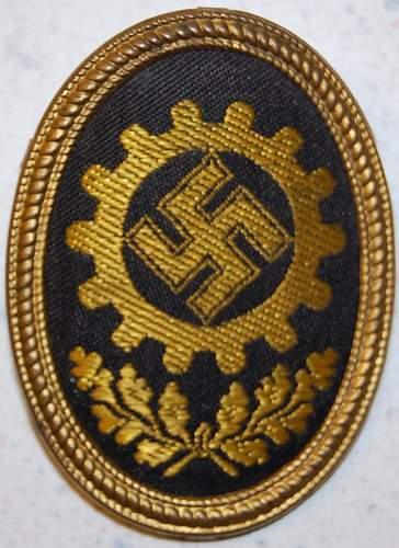 Need to identify badge