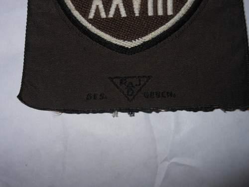 RAD District Arm Patch ~ Original?
