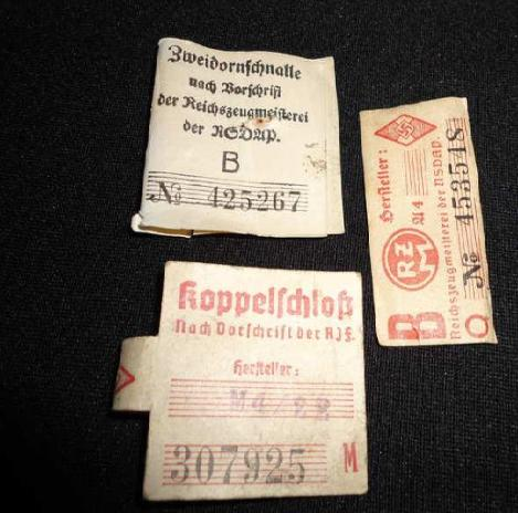 Need some help on authenticity NSDAP/RZM LABELS!