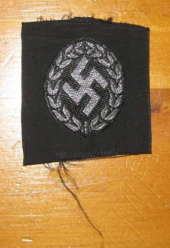 Schuma Cap Emblem for Review