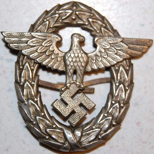Has any one seen a badge like this?