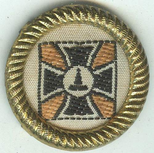 This looks like a Veteran's item, but how was it worn, and by whom?