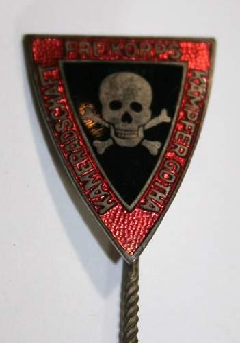 Freikorps Stick Pin