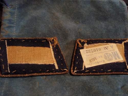 SA Gruppenfuhrer der Reserve collar patch
