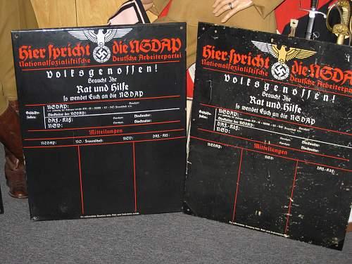 NSDAP Scheduling Board