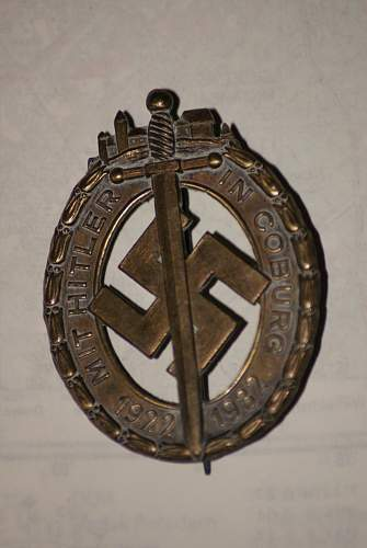 Coburg Badge: This has got to be fake