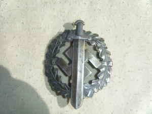 SA Silver Sports Badge