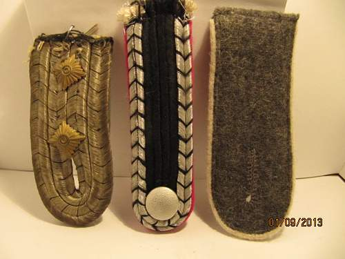 Unknown Shoulder Board REAL OR FAKE