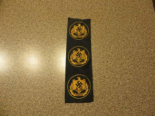 DRL sports patch