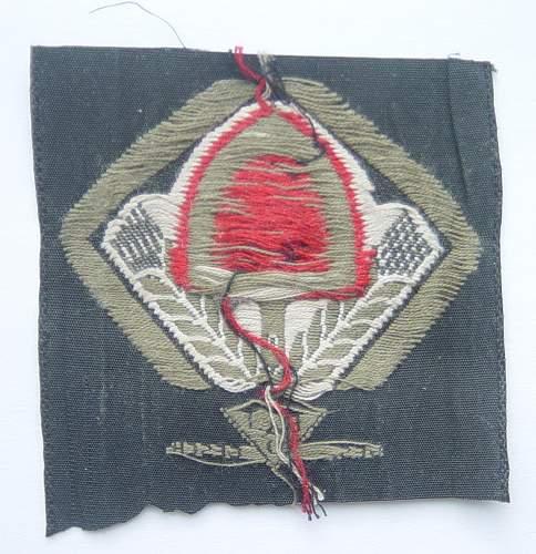 Click image for larger version.  Name:RAD cloth cap badge 002.jpg Views:75 Size:204.2 KB ID:452076