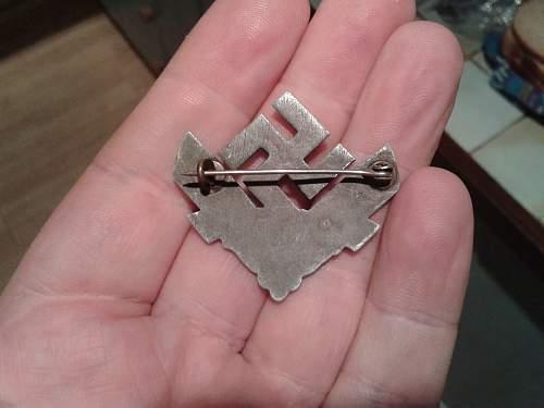 RADwJ cap badge
