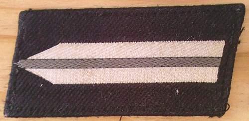 Click image for larger version.  Name:42) RAD Vormann Collar tab 2nd pattern 1940.jpg Views:107 Size:65.6 KB ID:454810