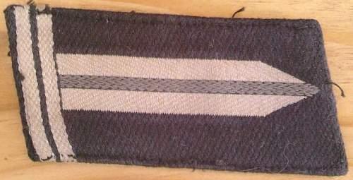 Click image for larger version.  Name:43) RAD Obervormann Collar Tab 2nd pattern 1940.jpg Views:74 Size:64.6 KB ID:454812