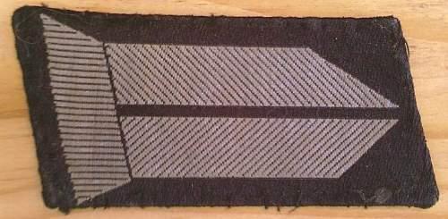Click image for larger version.  Name:44) RAD Hauptvormann Collar tab 3rd pattern 1942.jpg Views:117 Size:67.8 KB ID:454814