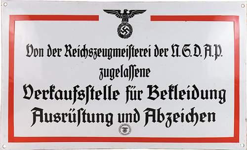 Reichsbund der Deutschen Beamten pin badge