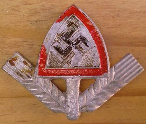 Click image for larger version.  Name:69) RAD Cap badge.jpg Views:31 Size:68.0 KB ID:455402