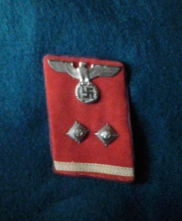 NSDAP Collar tab