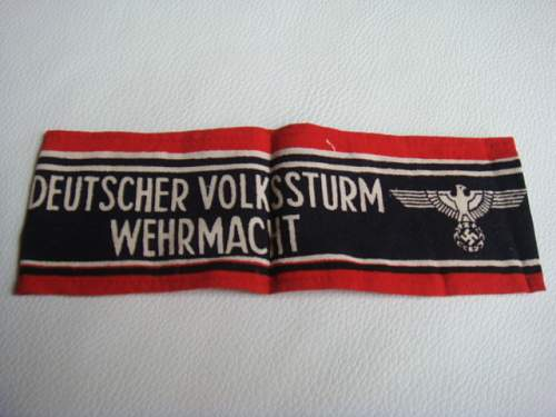 Volksturm Armband - Opinions Please