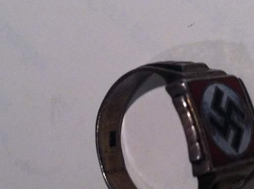swastika ring question