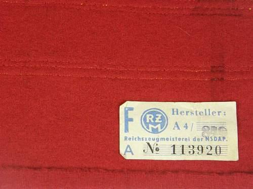 NSDAP Kreisleiter political leader's armband - Opinions Please