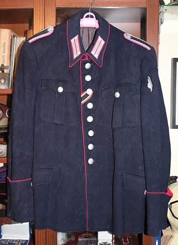 Feuerschutzpolizei (Fire Protection Police) / Feuerwehr Tunic Restoration