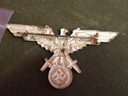 Veterans Cap Badge
