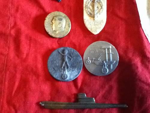 Various German items.
