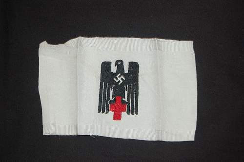 Medic and Vetrans League armbands