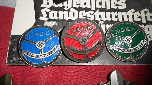 NSKK Badges