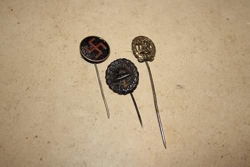 Various stickpins