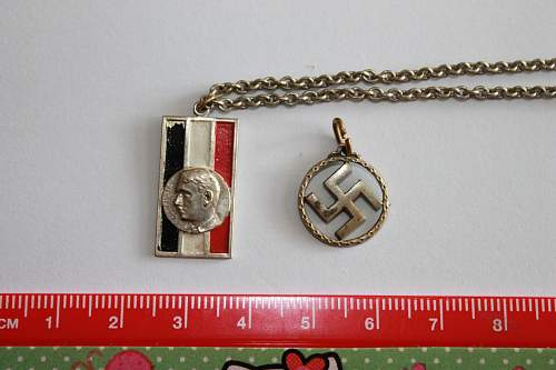 What kinds of German pendants have I bought?