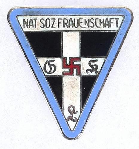Nat Nos Fruanschaft Pin