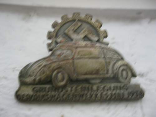 VW Badge hope it is real! What do you think?