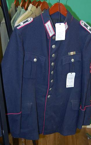 This walked right into my shop, Fire Police tunic?