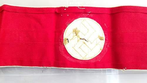 Nsdap Leader Armband