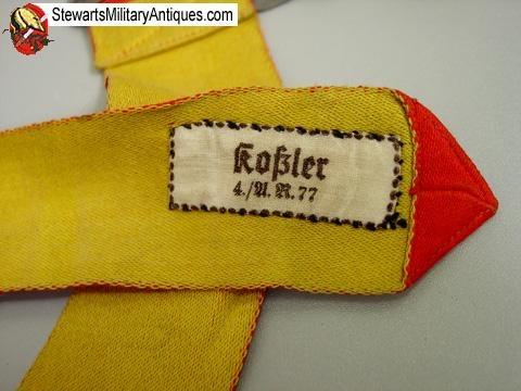 Red/yellow training helmet band