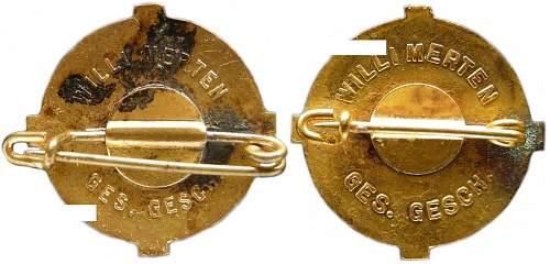 Deutsche Christen Badge