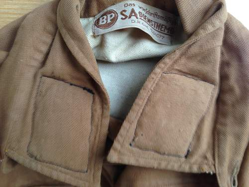 My new SA Generals Brown Shirt for review