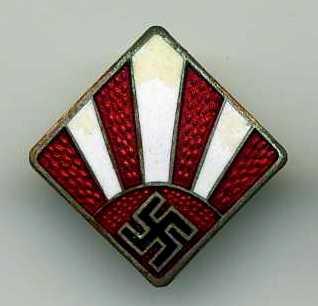 German/Japan pin badge?
